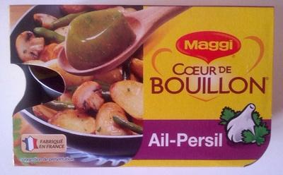 Coeur de bouillon Ail-Persil - Product - fr