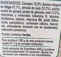 Estrellitas - Ingredients - es