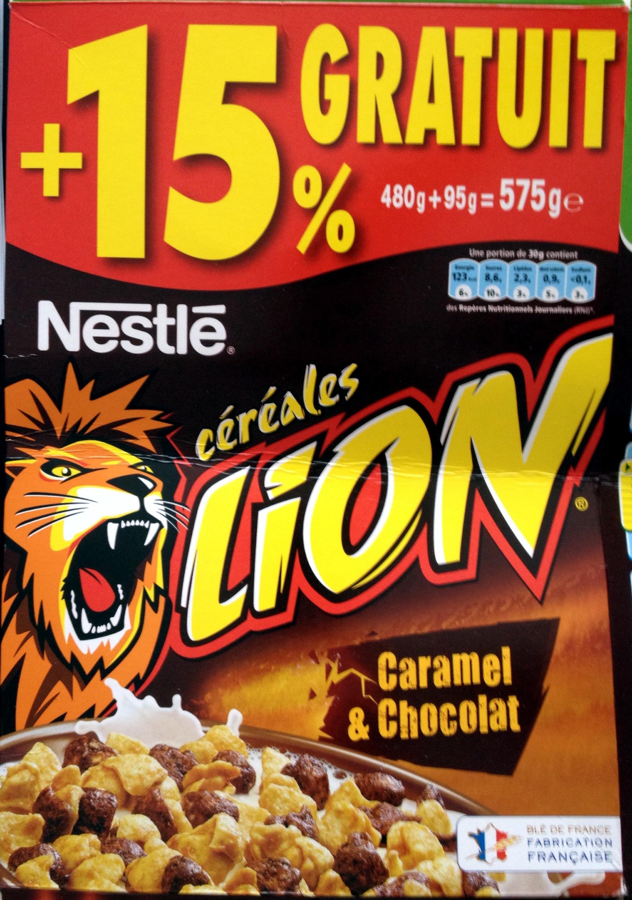 C U00e9r U00e9ales Lion Caramel  U0026 Chocolat