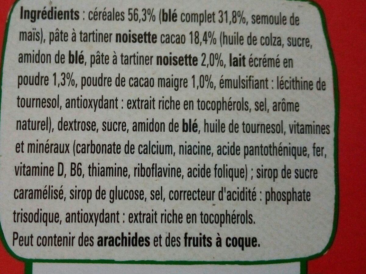 Chokella - Ingrédients - fr
