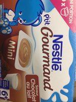 Ptit Gourmand Mini - Chocolat au lait, dès 6M - Produit