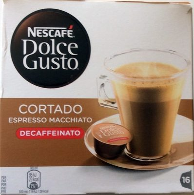 Dolce Gusto cortado decaffeinato - Product - fr