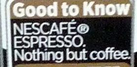 Nescafé Espresso 100% arabica - Ingredients - en