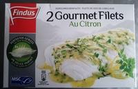 2 Gourmet Filets Au Citron Findus - Produit