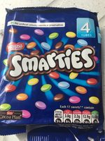 Smarties 4 Pack 152G - Product