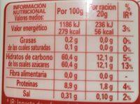 Nutricia - Información nutricional