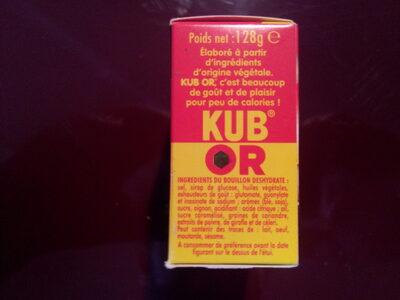 KUB ® Or - Ingredients