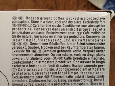 Lungo Intenso - Ingrediënten - fr