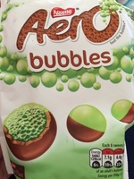 Nestle aero, bubbles chocolate - Product - en