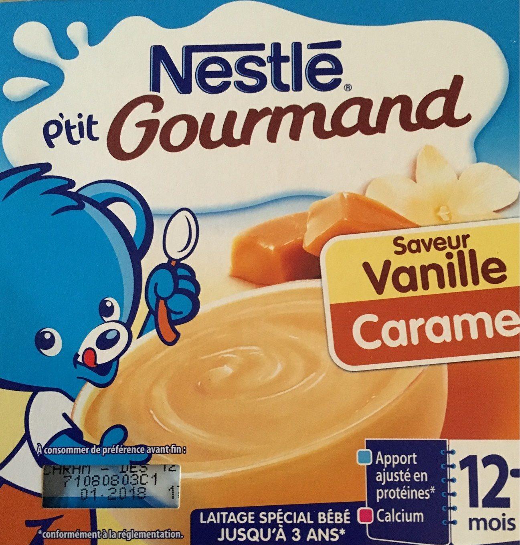 P'tit Gourmand - Laitage Vanille Caramel P'tit Gourmand - Produit