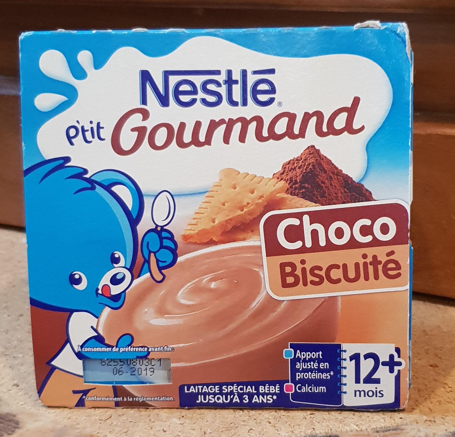 P'tit Gourmand choco biscuité - Produit - fr