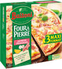 BUITONI FOUR A PIERRE pizza surgelée Jambon Fromage 3 paks x 350g (x3 maxi format) - Produto