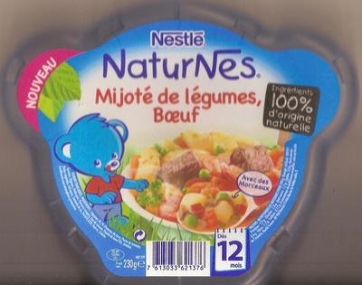 NaturNes Mijoté de légumes, boeuf - Prodotto - fr