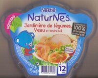 NaturNes Jardinière de légumes, Veau et tendre blé - Prodotto - fr