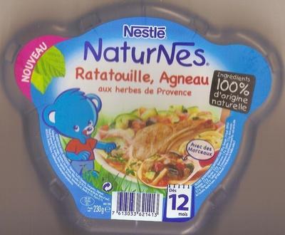 Ratatouille, Agneau aux herbes de Provence dès 12 mois - Prodotto - fr