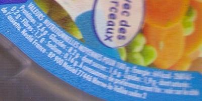 NaturNes Etuvée de légumes, Merlu blanc aux épices douces - Valori nutrizionali - fr
