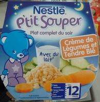 P'tit Souper Crème de Légumes et Tendre Blé - Product