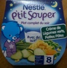 P'tit Souper Crème de Légumes verts, Petits Pâtes avec du lait - Product