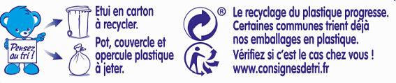 NESTLE NATURNES Petits Pots Bébé Courgettes + Epinards + Potiron -6x130g -Dès 4/6 mois - Istruzioni per il riciclaggio e/o informazioni sull'imballaggio - fr