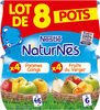 NESTLE NATURNES Compotes Bébé Fruits du Verger + Pommes Coings - Product