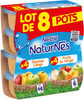 NESTLE NATURNES Compotes Bébé Fruits du Verger + Pommes Coings 8x130g - Product