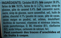 Cereals Karamell & Schoko - Ingrédients - fr