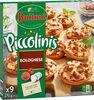 BUITONI PICCOLINIS mini-pizzas surgelées Bolognese 270g (9 pièces) - Prodotto
