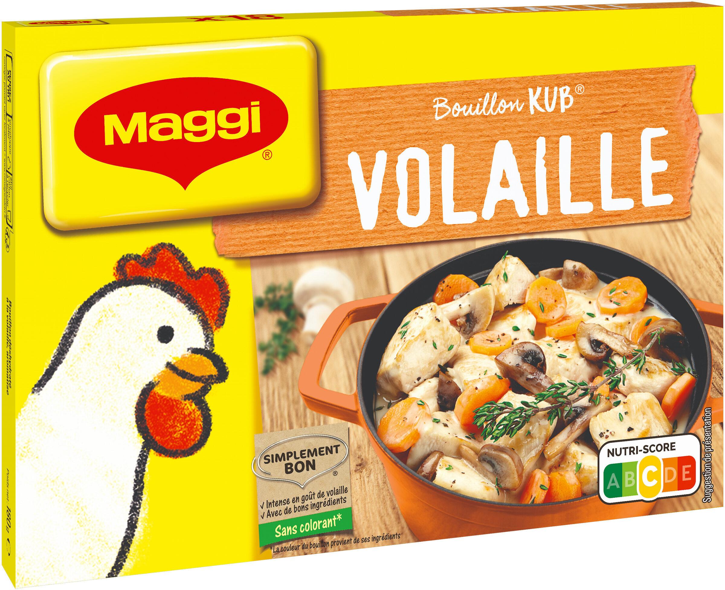 MAGGI Bouillon KUB Volaille - Product - fr