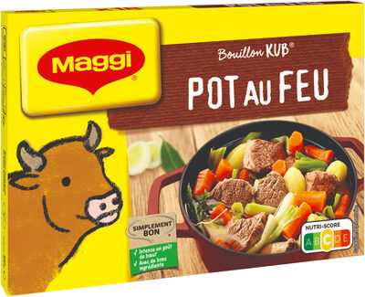 MAGGI Bouillon KUB Pot-au-feu - Product - fr