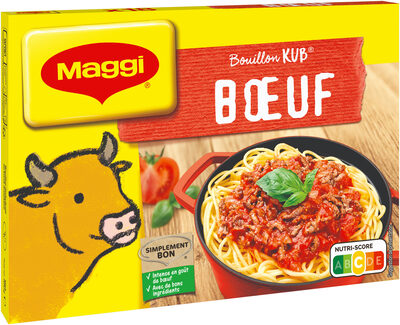 MAGGI Bouillon KUB Bœuf - Product - fr