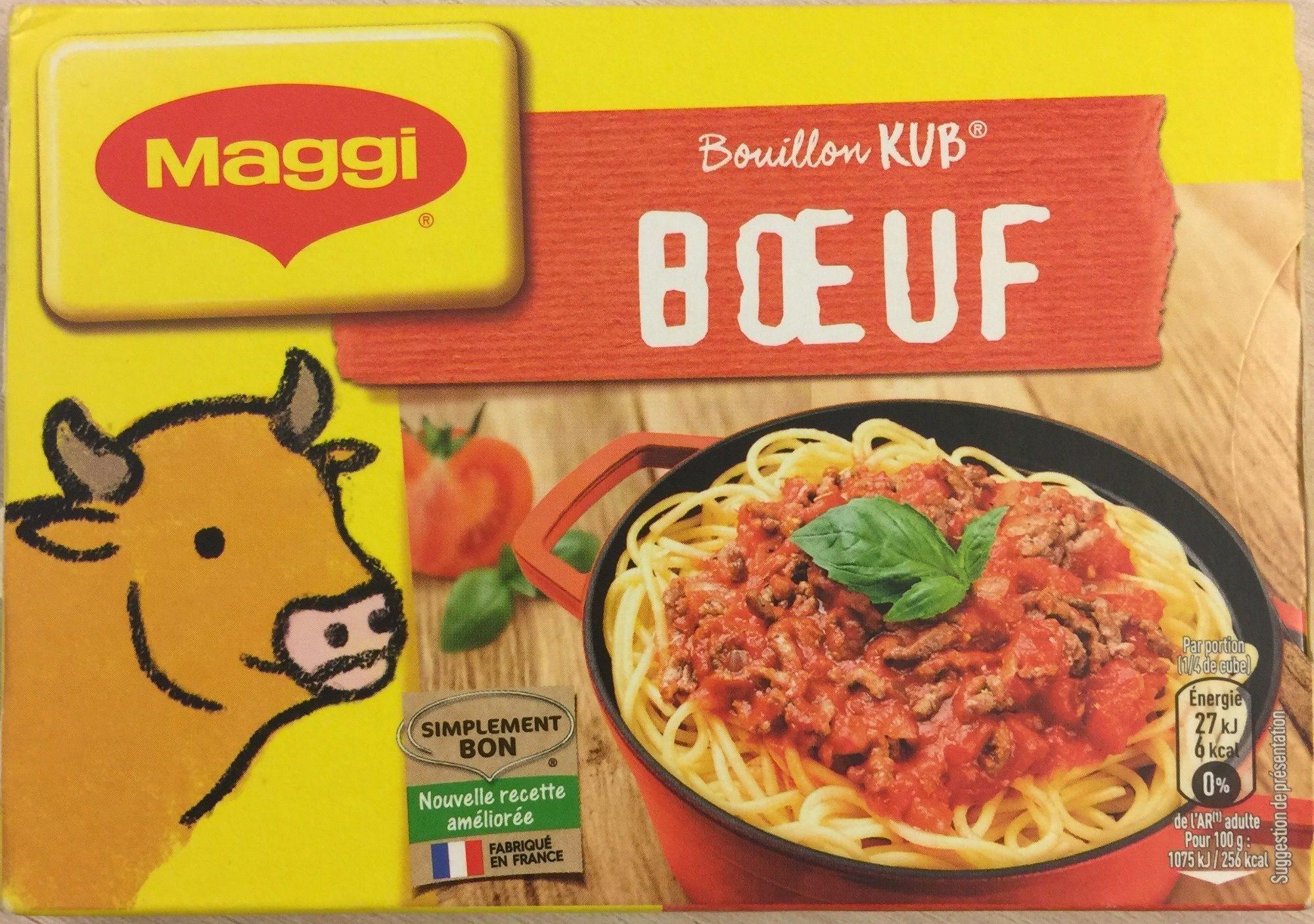 Bouillon Kub Bœuf (18 cubes) - Product - fr