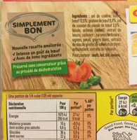 Bouillon Kub Bœuf (18 cubes) - Ingredients