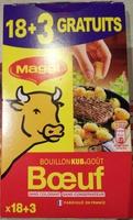Bouillon Kub goût Boeuf - Produit