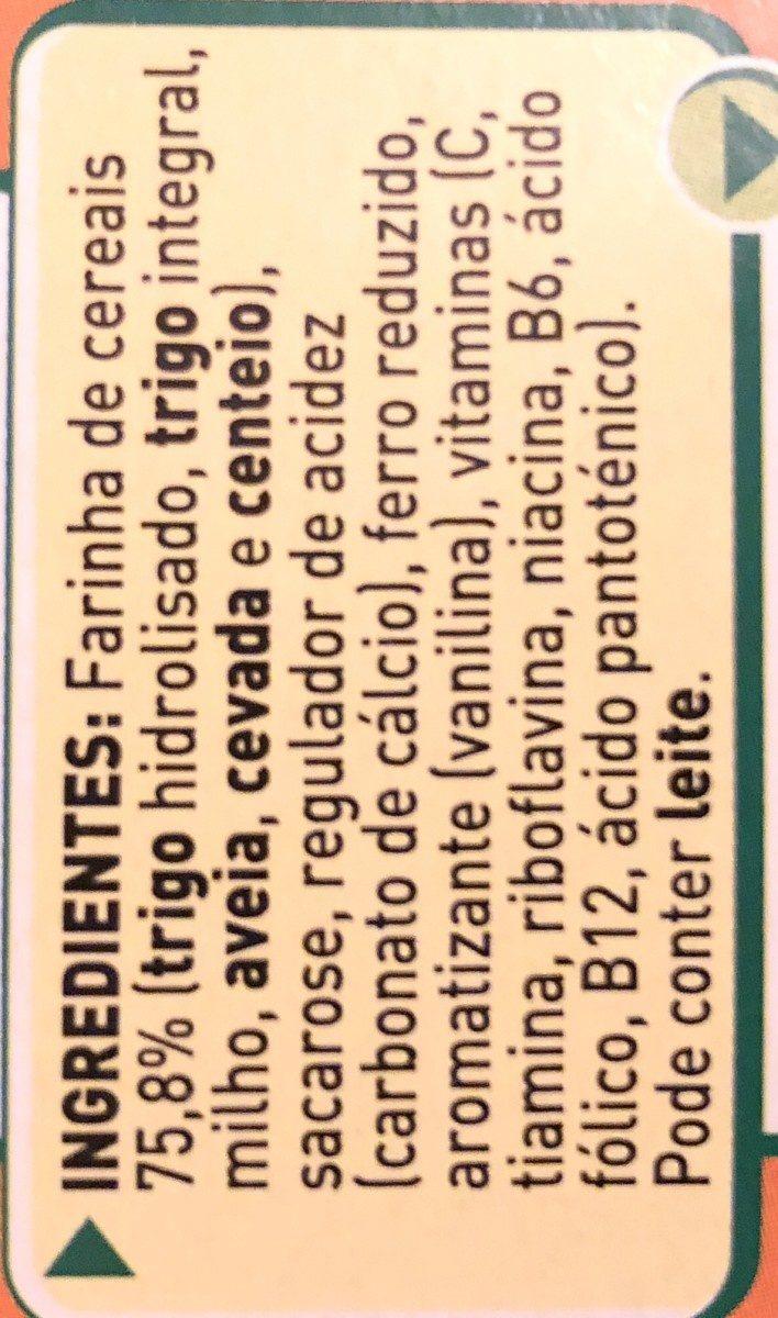 Nestum 5 Cereais Nestle - Ingrediënten