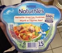 NaturNes Mijoté de Légumes, Bœuf - Product - fr