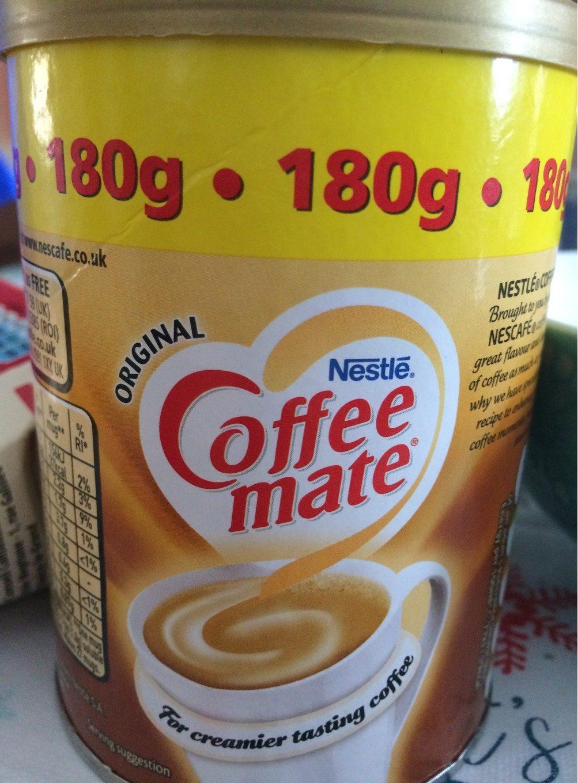 Coffee Mate 180g Original 07 18 Nestlé 180 G