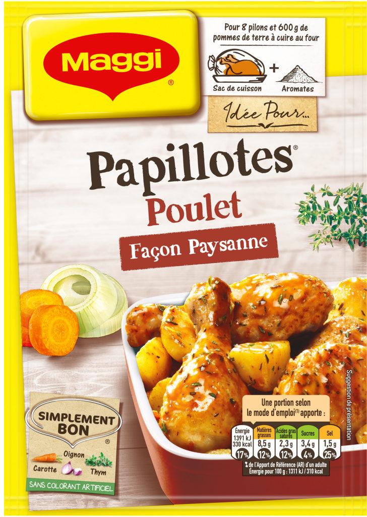 Papillotes Poulet façon paysanne - Product - fr