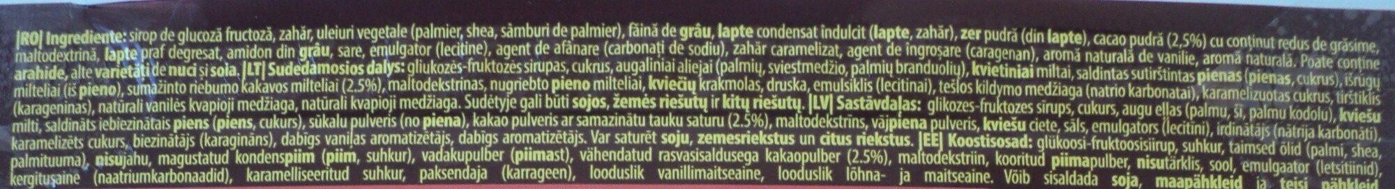 Lion - Ingredients - lt
