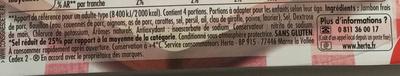 Tendre Noix au torchon -25% de sel - Ingrédients - fr