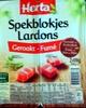 Spekblokjes Gerookt - Lardons Fumés - Produit