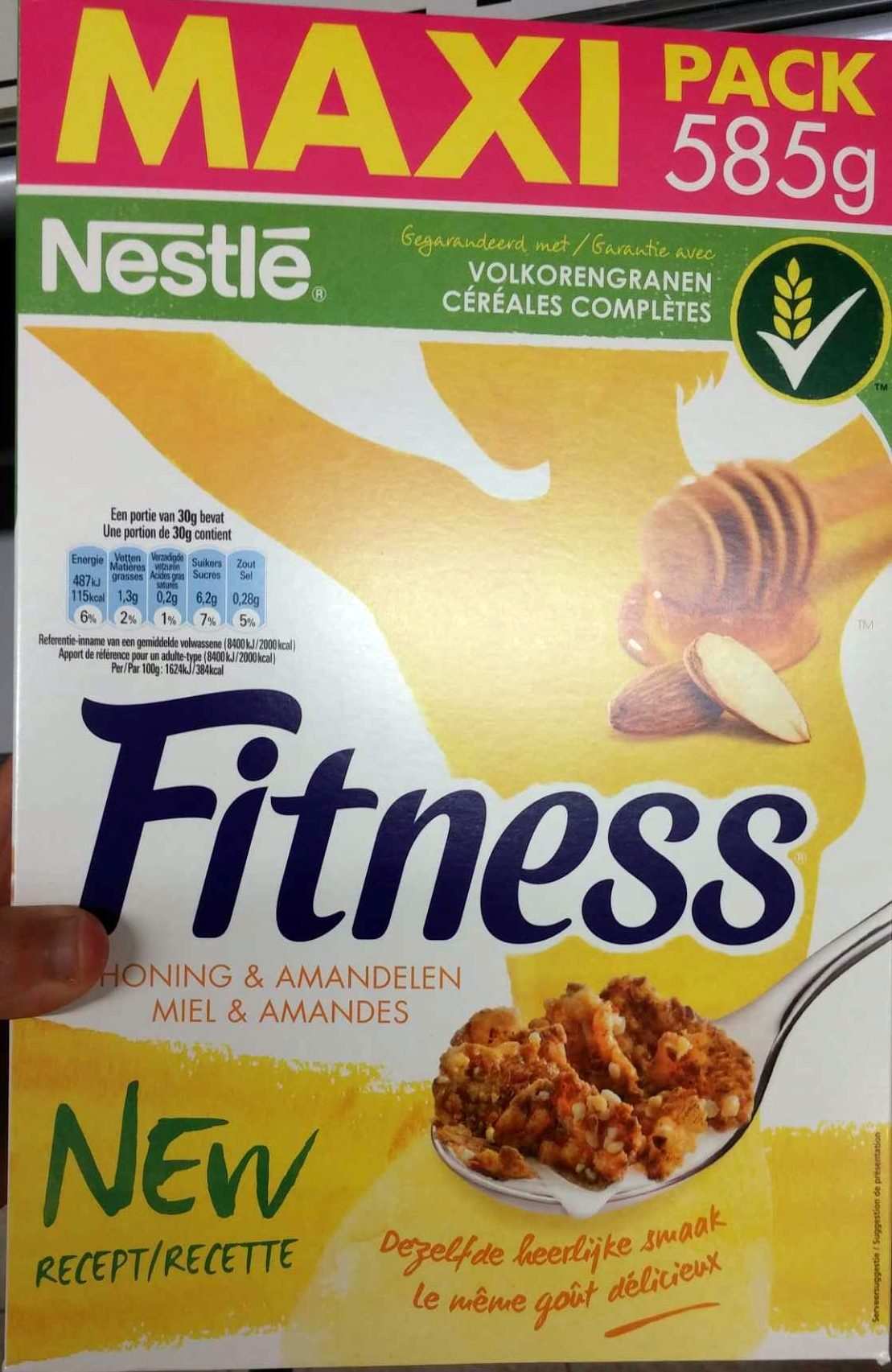 Fitness Miel & Amandes (Maxi Pack) - Product