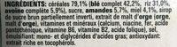Fitness Miel & Amandes (Maxi Pack) - Ingrediënten