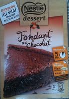 Nestlé - Desserts - Fondant au Chocolat - Produit