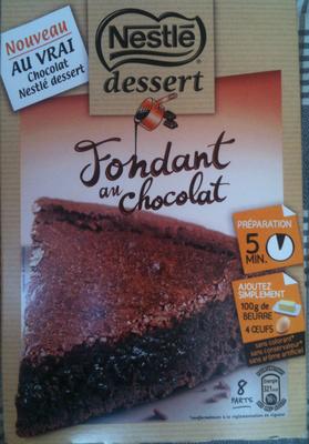 nestl 233 desserts fondant au chocolat 317 g