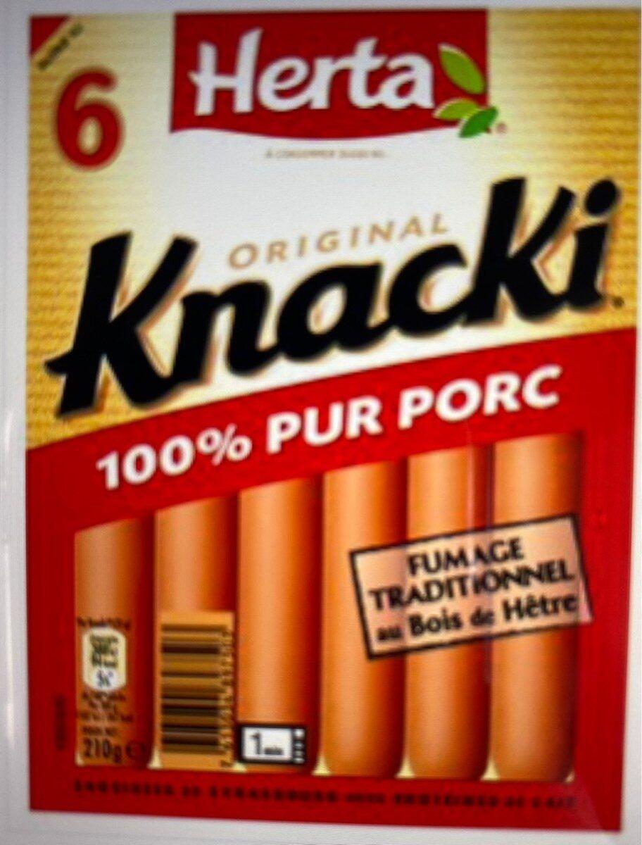 Knacki - Produit - fr