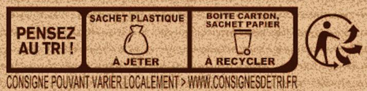Préparation pour Brownie au Chocolat - Recyclinginstructies en / of verpakkingsinformatie - fr