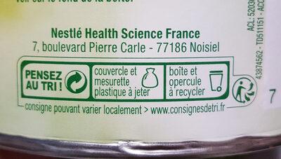 OptiFibre - Instruction de recyclage et/ou information d'emballage - fr