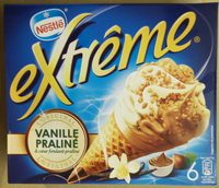 Extrême Original Cône Vanille Praliné - Produit