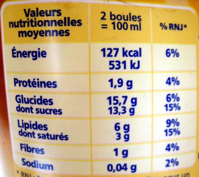 Chocolat Noisettes façon Rocher (nouvelle recette) - Nutrition facts - fr