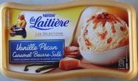 Glace vanille pécan caramel beurre salé, La Laitière - Product - fr